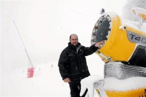 Canon à neige champ du feu 2011