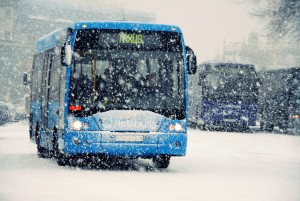 Prenez les transport en commun et bus pour vous rentre aux stations de ski
