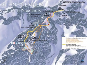 Plan de piste Nordique du Schnepfenried